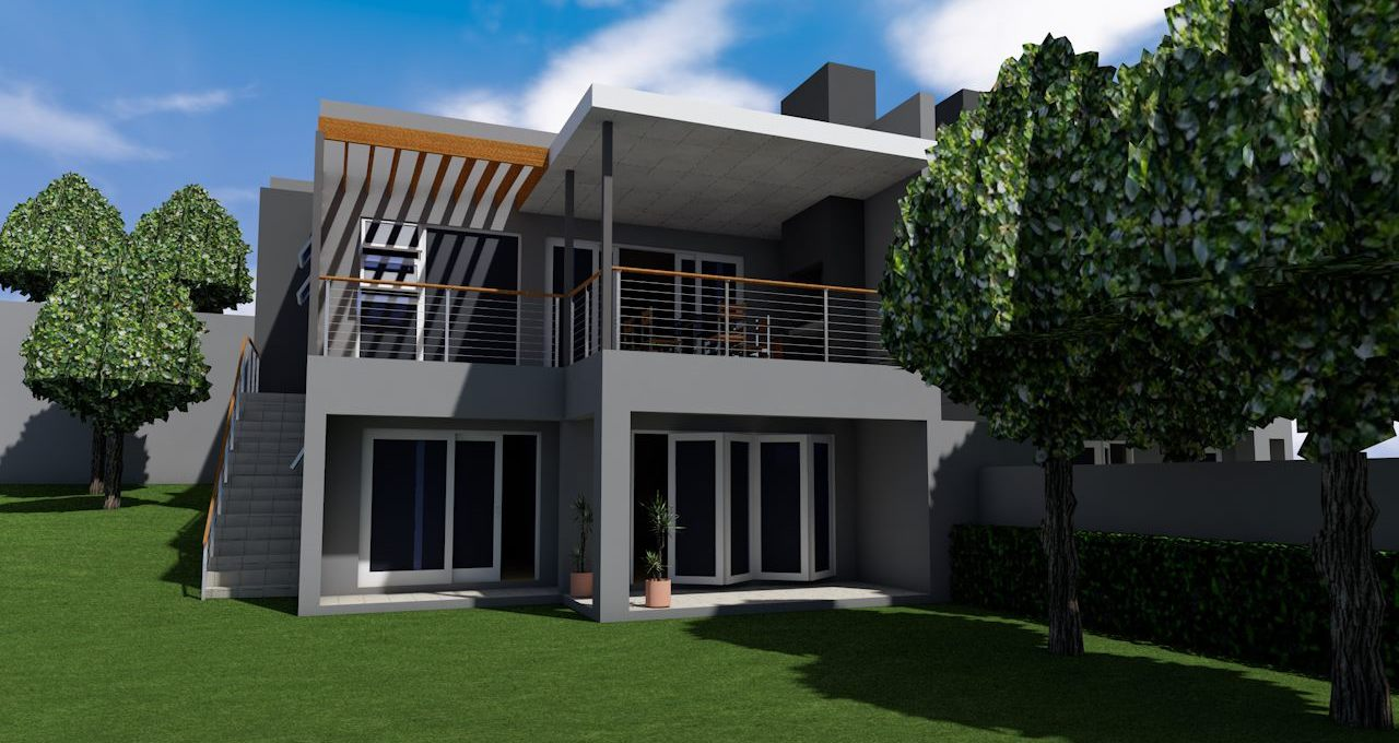 This erf in Plattekloof has options of single residential development or a sectional title plot and plan option for a developer.