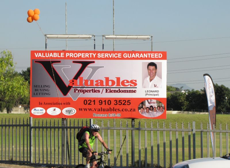 Valuables Properties billboard in Suikerbossie