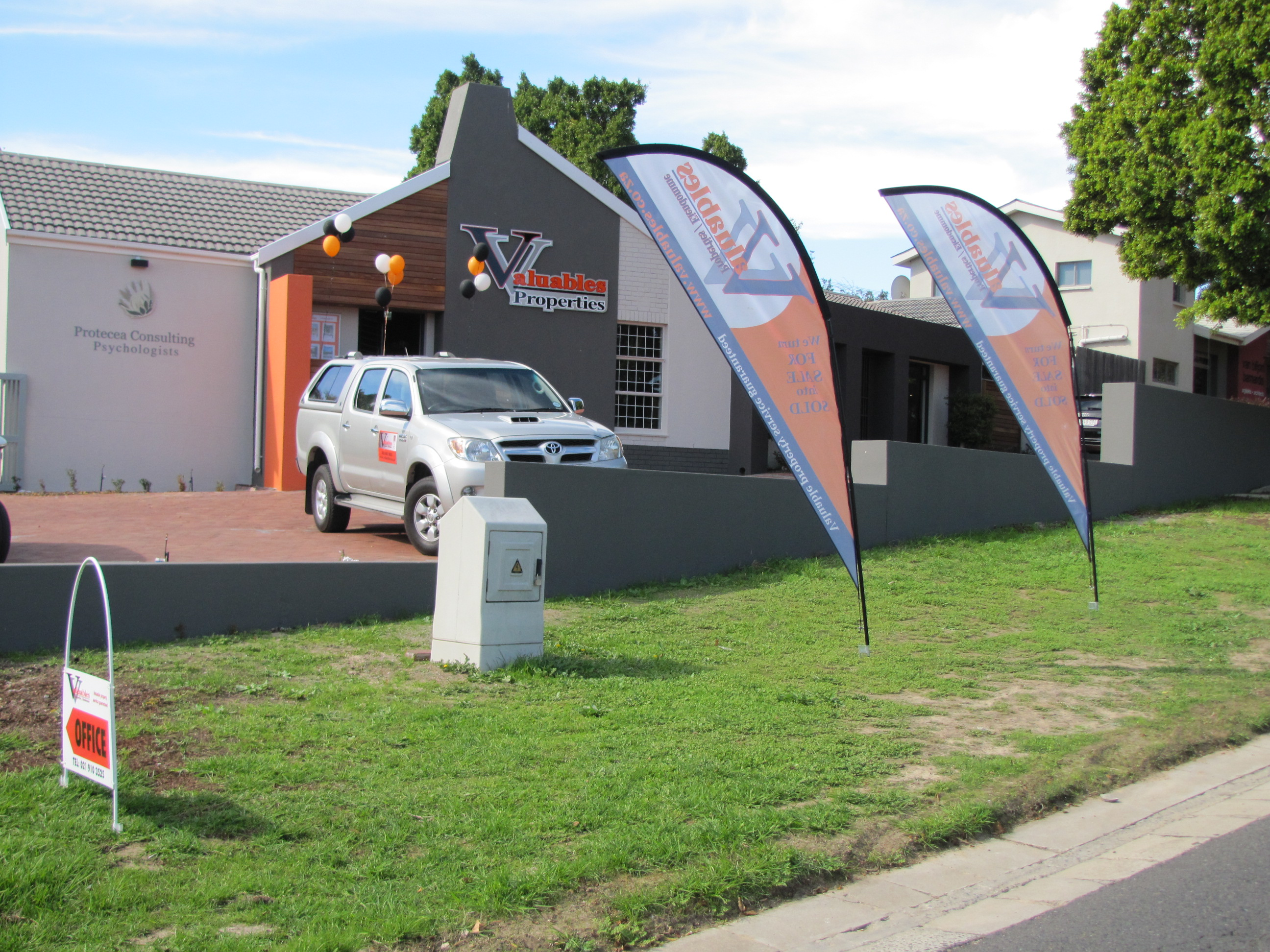 Our offices at No76 De Bron Avenue, Kenridge, Durbanville